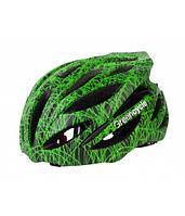 Шлем Green Cycle Alleycat размер 54-58см черно-зеленый, фото 1