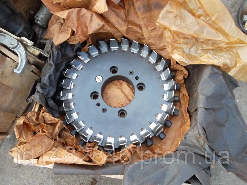 Зуборезная головка для конических колес с круговым зубом Ø400 mm