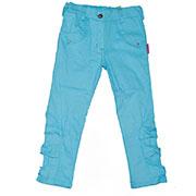 Штанишки для девочки голубые