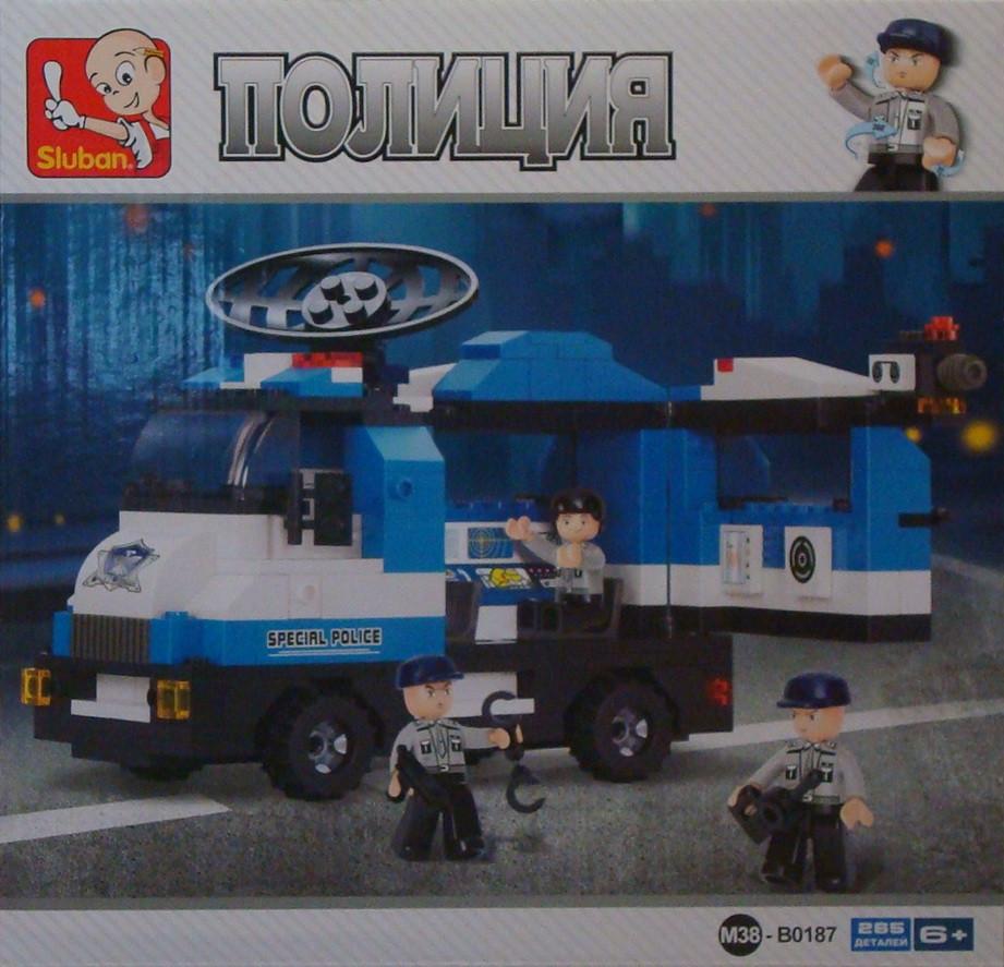 Sluban полиция конструктор B0187