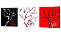 Модульная картина 228 деревья