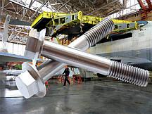 Болт М8 DIN 6921 с пресс-шайбой