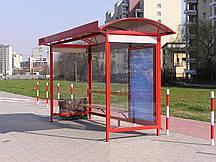 Автобусная остановка модель №2