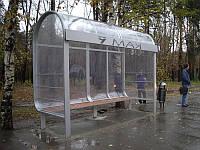 Автобусная остановка модель №14