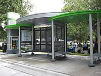 Автобусная остановка модель №21
