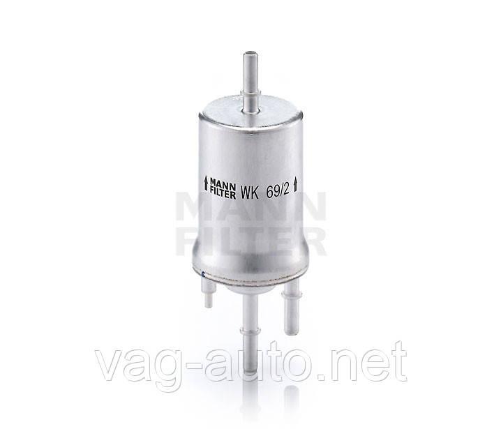 Фильтр топливный Skoda Fabia New, Roomster - 4Бар