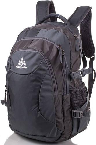 Городской рюкзак от торговой марки Onepolar (Ванполар) W1801-grey серый
