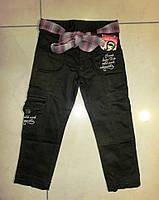 Вузькі чорні брюки для дівчинки. Розміри: 92