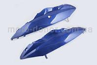 Пластик на скутер VIPER (Zongshen) WIND   задняя боковая пара   (синий)   , фото 1