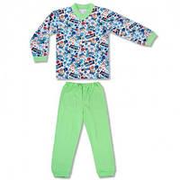 Детская пижама с манжетами на штанах, на рост - 86, 98, 104, 116, 122 см. (арт: 9-34_6)