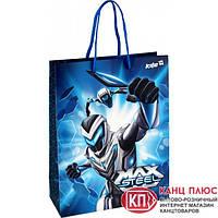 "Kite Пакет бумажный подарочный, (18х24 см) ""Max Steel"" арт. MX14-265K"
