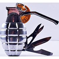 Зажигалка газовая Граната №4461-2, зажигалки, сувенирные подарки, зажигалка граната, оригинальные зажигалки