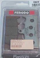 FDB873P Тормозные колодки Ferodo для мотоцикла KAWASAKI, SUZUKI.90x52x9,9mm