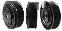 Шкив компрессора кондиционера в сборе Ford FS15/FX15 130mm/8pk 12V