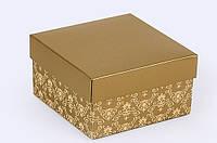 """Коробка """"Винтаж"""" золото"""