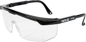 Окуляри захисні YT-7361, YATO