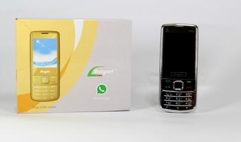 Телефон Nokia 6700 silver 2sim, 2.2''с зеркальным металлическим корпусом