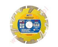 Алмазный диск 125 x 22,2 мм сегментный быстрый и глубокий разрез /ар