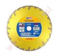Алмазный отрезной диск 350 x 32/25,4/22,2 м сегментный быстрый и глубокий разрез /ар