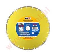 Алмазный отрезной диск 350 x 32/25,4/22,2 мм сегментный /ар