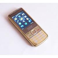Точная копия Nokia Hope 6700 gold 2sim, 2.2''с зеркальным металлическим корпусом