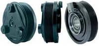 Шкив компрессора кондиционера в сборе FORD FS/FX (Jaguar) 127mm/6pk 12V
