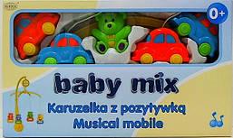 """Мобиль """"Машинки и мишка"""" ALE-20037AS Babymix Польша"""