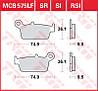 Тормозные колодки для мототехники TRW / Lucas MCB575EC