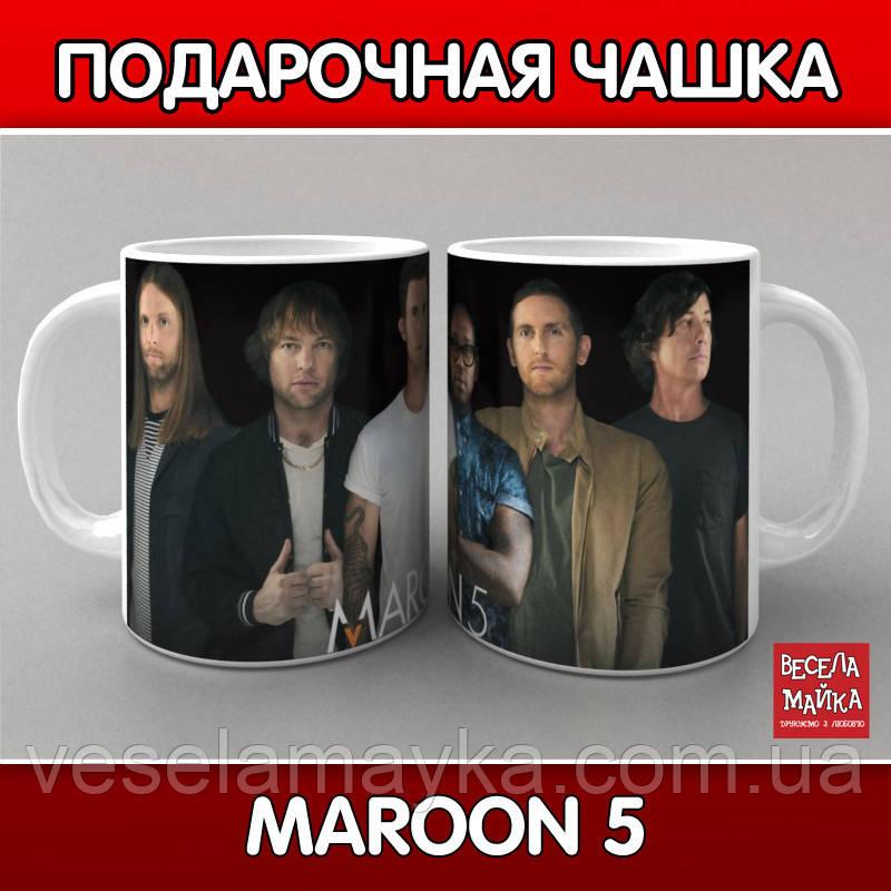 Чашка MAROON 5 (Марун Файв)