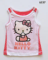 Майка Hello Kitty для девочки. 2, 3, 4 года
