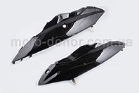 Пластик на скутер VIPER (Zongshen) WIND задня бічна пара (чорний), фото 1