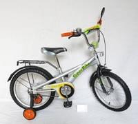 Детский велосипед 18 дюймов 151802, со звонком, зеркалом