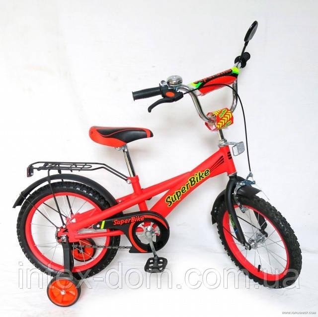 Велосипед 18« детский 151803 со звонком, зеркалом