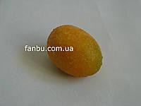 Искусственный маленький лимон (длина 4 см)