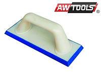 Терка AWTOOLS  пластмассовая с резиновым покрытием для заделки швов