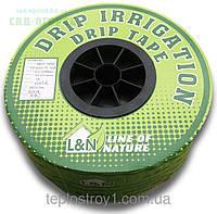 Лента для капельного полива L&N 10/1000 м 0.2 мм (эмитер)