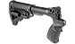 Телескопический приклад с пистолетной рукояткой FAB для Mossberg 500/590, фото 2