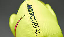 Бутсы Nike Mercurial Vapor X Sg-Pro 648555-760 Салатовые, Найк меркуриал (Оригинал), фото 2