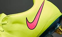 Бутсы Nike Mercurial Vapor X Sg-Pro 648555-760 Салатовые, Найк меркуриал (Оригинал), фото 3