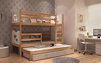2 ярусная кровать для детей MAX 3 места
