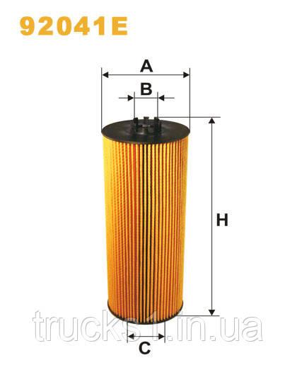 Фільтр оливи 92041E (WIX)