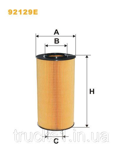 Фільтр оливи DAF XF105 CF85 92129E (WIX)