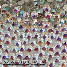 Стразы стекло, ss12 Crystal AB, 1440 шт, аналог Swarovski