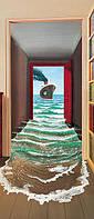Фотообои на дверь Секрет  86*200 Код 548
