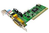Звуковая карта C-Media, PCI, 32bit, 6-Channels