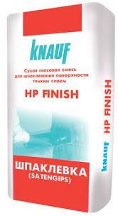 Шпаклевка гипсовая НР Finish  TM Knauf