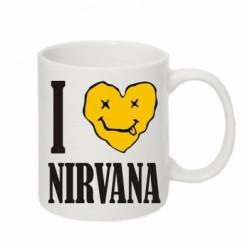 Кружка «I love Nirvana»