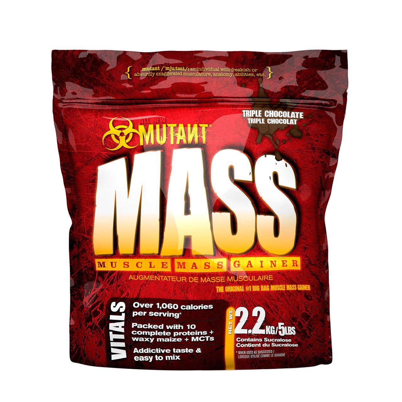Гейнер PVL Mutant Mass 2,27 кг