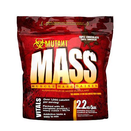 Гейнер PVL Mutant Mass 2,27 кг, фото 2