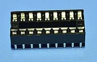 Панель под микросхему шаг2.54мм DIP18  Ninigi